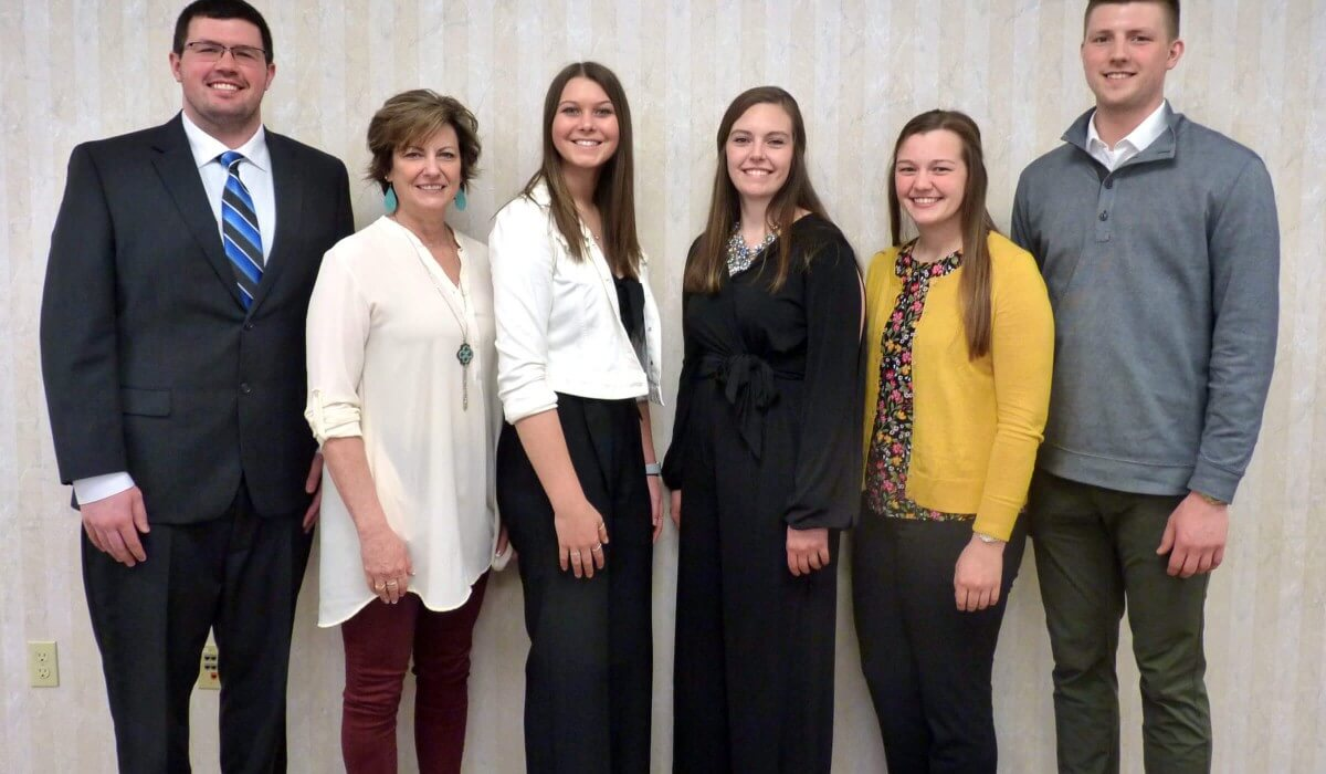 Post Photo for Winneshiek Medical Center Auxiliary awards scholarships to local students