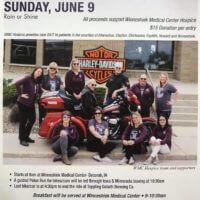 Hospice Ride Fundraiser Sunday June 9th
