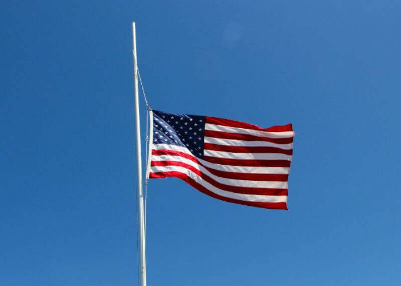 Post Photo for Fly the United States Flag at Half-Staff