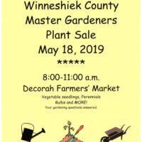 Winneshiek County Master Gardeners Spring Plant Sale!! Saturday May 18th
