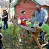 Fourth-Grade Students Present Pioneer Immersion Program Exhibit at Vesterheim