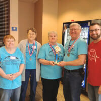 Crossing Rivers Health Cardiac Rehab Team Wins 1st Place at Annual Hearts of Gold Games