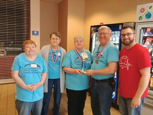 Post Photo for Crossing Rivers Health Cardiac Rehab Team Wins 1st Place at Annual Hearts of Gold Games