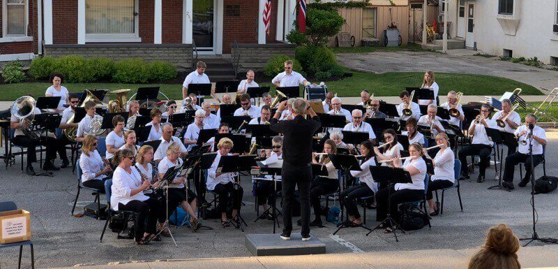 Post Photo for The Decorah Municipal Band performs this Thursday, June 6, at Lawn Chair Night