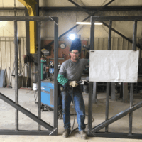 STEM externship experience at Trinity Fabricators in New Albin, Iowa