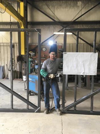 Post Photo for STEM externship experience at Trinity Fabricators in New Albin, Iowa