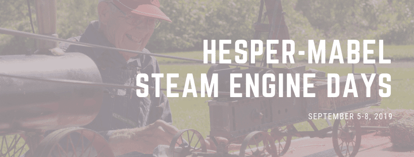 Post Photo for Steam Engine Days in Mabel is THIS weekend