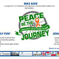 """Bike ride to raise mental health awareness in northeast Iowa"""