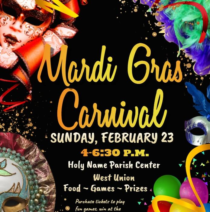 Post Photo for Mardi Gras Carnival in West Union