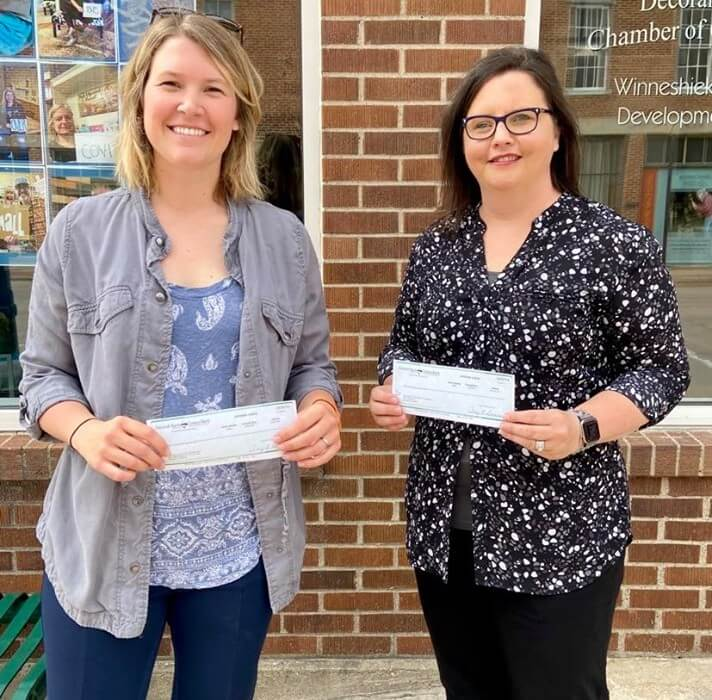 Post Photo for WCDT and DACC Awarded $5,000 from Decorah Bank and Trust